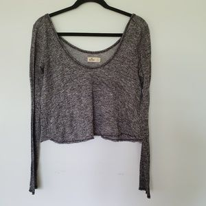 2/$20 Hollister crop top long sleeve